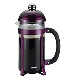 BonJour® Coffee 8-Cup Maximus Purple French Press