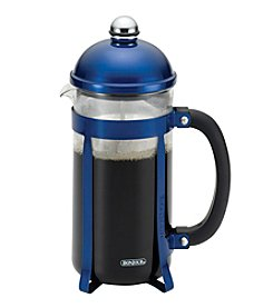 BonJour® Coffee 8-Cup Maximus Blue French Press