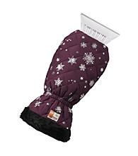 Ruff Hewn Purple Snowflake Auto Ice Scraper