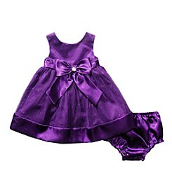 Sweet Heart Rose® Baby Girls' Box Dress with Bow