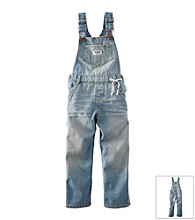 OshKosh B'Gosh® Baby Girls' Light Wash Overalls
