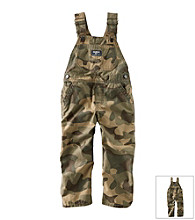 OshKosh B'Gosh® Baby Boys' Camo Canvas Overalls