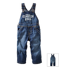 OshKosh B'Gosh® Baby Boys' Vintage Wash Log Overalls