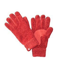 Isotoner® Signature Solid Chenille Gloves