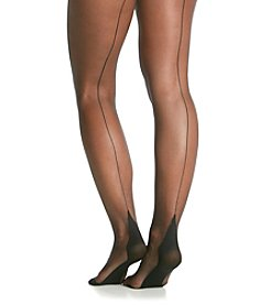 Pretty Polly 10 Denier Gloss Back Seam Sheer Tights