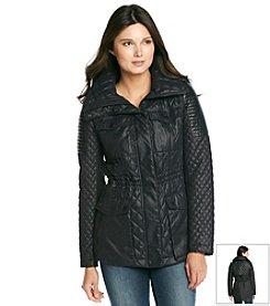 BCBGeneration™ Waxy Anorak Quilt Jacket