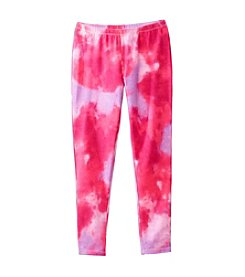 Little Miss Attitude Mix & Match Girls' 2T-6X Tie-Dye Leggings