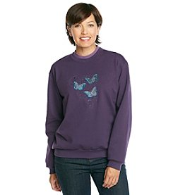 Morning Sun® Butterflies Sweatshirt