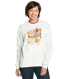 Morning Sun® Cardinal Collage Sweatshirt