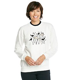 Morning Sun® Chickadee Silhouettes Sweatshirt