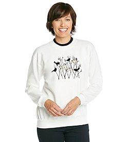 Morning Sun® Chickadee Silhouettes Sweatshirt