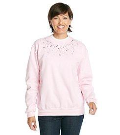 Morning Sun® Pink Breast Cancer Awareness Sweatshirt