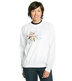 Morning Sun® Goldfinch Garden Sweatshirt
