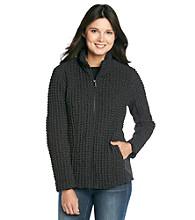 Jones New York® Short Stretchy Quilt Softshell Jacket