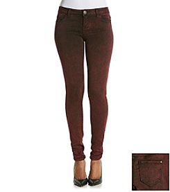 Celebrity Pink Soft Touch Rayon Acid Wash Skinny Jeans