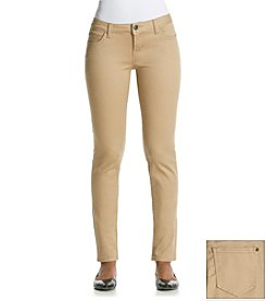Celebrity Pink Khaki Stretch Sateen Skinny Jeans