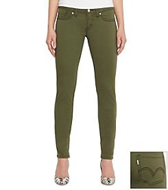 Levi's® 524 Skinny White Tab Jean Army Green