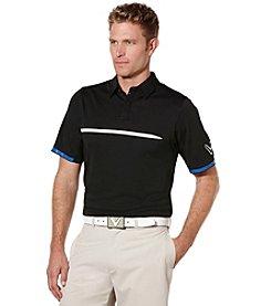 Callaway® Men's Big & Tall Short Sleeve Ventilated Polo Shirt