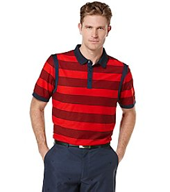 Callaway® Men's Big & Tall Short Sleeve Rugby Stripe Polo Shirt