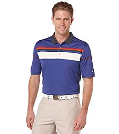 Callaway® Men's Big & Tall Short Sleeve Yarn Dyed Color Block Polo Shirt