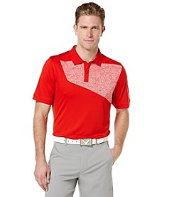 Callaway® Men's Big & Tall Short Sleeve Jasper Color Blocked Polo Shirt