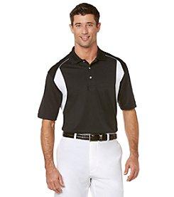 PGA TOUR Men's Big & Tall 3 Color Airflux Polo