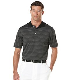 PGA TOUR® Men's Short Sleeve 3-Color Stripe Polo