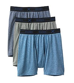 Hanes® Men's 3-pk. Tagless Boxer Briefs
