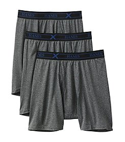 Hanes® Men's 3-Pack TAGLESS® Boxer Briefs
