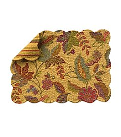 LivingQuarters Quilted Henley Placemat
