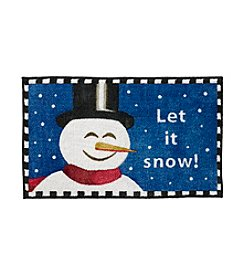 Nourison Let It Snow! Snoman Rug
