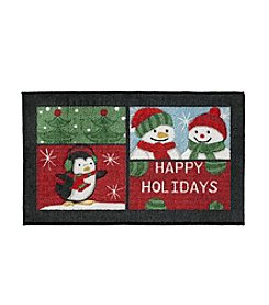Nourison Happy Holidays Grid Rug
