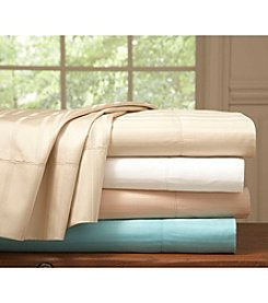 Pointehaven 510-Thread Count Stripe Pima Cotton Sheet or Duvet Sets