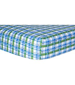 Trend Lab Plaid Flannel Crib Sheet