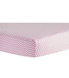 Trend Lab Chevron Flannel Crib Sheet