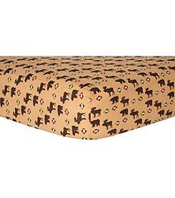 Trend Lab Northwoods Flannel Crib Sheet