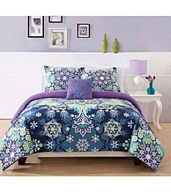 Pem America Boho Kaleidoscope Comforter Bedding Collection