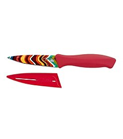 Fiesta® 2-pc. Scarlet Chevron Paring Knife with Sheath