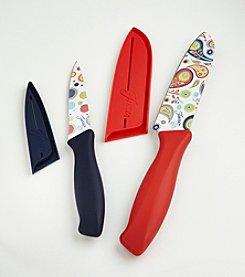 Fiesta® 4-pc. Scarlet Decal Knife Set