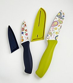 Fiesta® 4-pc. Flamingo Decal Knife Set