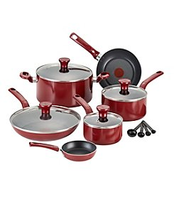 T-fal® Excite 14-pc Red Nonstick Cookware Set + $20 Cash Back