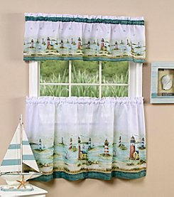 Achim Hamptons Tier and Valance Set