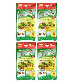 Debbie Meyer Set of Four 8-pc. X-Large Green Bags