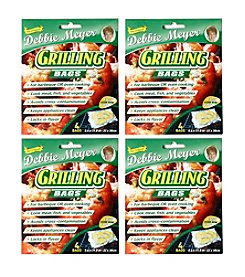 Debbie Meyer Set of Four 4-pc. Grilling Green Bags