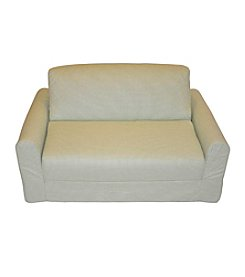 Fun Furnishings Green Checker Sofa Sleeper