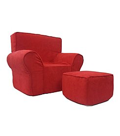 Fun Furnishings Fun Foam Chair and Ottoman