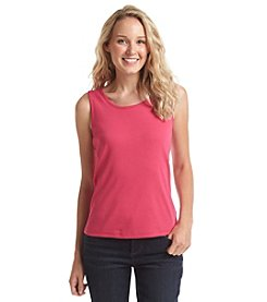 Miss Erika Solid Ribbed Tank Top