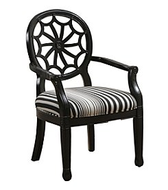 Powell® Matson Black Spider Back Accent Chair