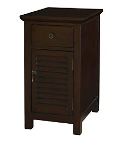 Powell® Molasses Chairside Cabinet