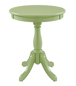 Powell® Iris Round Sea Green Accent Table